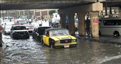 أمطار غزيرة على الإسكندرية والساحل الشمالي