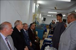 اطلاق اسم شهيد كنيسة حلوان على احد مدارس قريته بالقليوبية