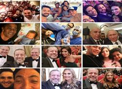 شاهد| «السيلفي» يكشف حياة المشاهير في عام 2017