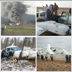 حصاد 2017| حادث «طائرة التدريب» يعصف بعام السلام لـ«الطيران»