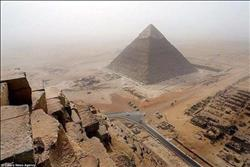 بالصور.. «مدير آثار الهرم»: انتهاء 90% من أعمال تطوير منطقة الأهرامات