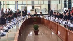 """وزيرة التخطيط تبحث تنفيذ """"تنمية الصعيد"""" مع محافظ قنا"""