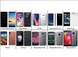 10هواتف ذكية ظهرت في 2017