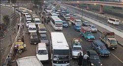 انتظام حركة المرور على الطريق الزراعي السريع بقليوب