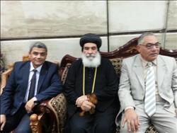 مطران المنوفيه: الرئيس السيسى يقود مصر للتنميه والرخاء