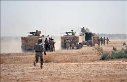 """الأمن العراقي يدمر 8 مواقع لـ""""داعش"""" بعملية عسكرية"""