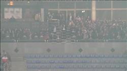 مجلس الأهلي يؤازر الفريق من المدرجات.. و«الخطيب» يغيب