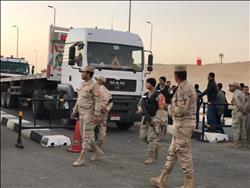 إنهاء أزمة تكدس طوابير النقل بكوبري منسي العائم بالإسماعيلية