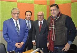 صور  أسامة كمال ومعتز الدمرداش في الانطلاقة الجديدة لـ«راديو هيتس»