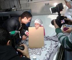 """آسر ياسين يستضيف أطفال مستشفى """"أبو الريش"""" في """"واحد من الناس"""""""