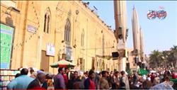 فيديو| زحام ومديح استعدادا لليلة الكبير لسيدنا الحسين