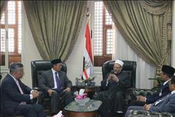 المفتي يستقبل وفدًا إندونيسيًّا لتعزيز أوجه التعاون بين البلدين