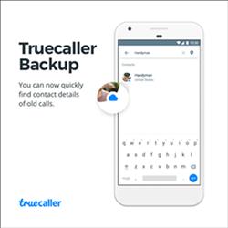 تروكولر يطلق خاصية عمل نسخة احتياطية للقوائم