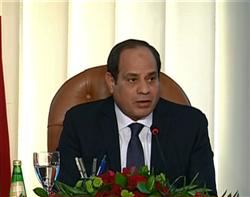 السيسي: « 250 مليار جنيه لتنمية سيناء »