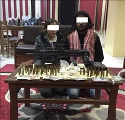 سقوط هارب من حكمي إعدام و25 حكم قضائي بالإسماعيلية