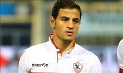 تأكد غياب أحمد توفيق عن مباراة الزمالك مع المصري
