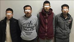 ضبط المتهمين بحيازة أسلحة نارية واختطاف تاجر بالصف