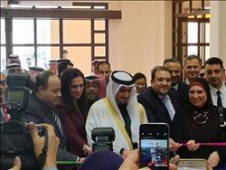 افتتاح الجناح المصري في معرض الخريف السنوي بالبحرين