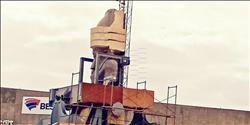 بث مباشر .. نقل تمثال رمسيس الثاني للمتحف المصري الكبير