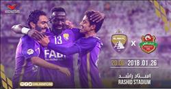 حسين الشحات أساسيا أمام الأهلي في الدوري الإماراتي