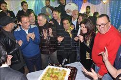 صور  سمير صبري ونجوى فؤاد وتامر أمين يحتفلون بعيد ميلاد عريان فهيم