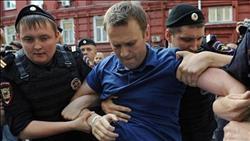 الإفراج عن المعارض الروسي نافالني بعد اعتقاله خلال تظاهرات