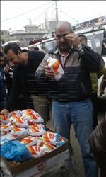 حملة تموينية مكبرة تثبت صلاحية الدواجن المجمدة منخفضة السعر بالإسكندرية