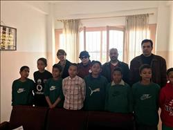 بالصور.. وفد «أنرويل» يزور مجمع الدفاع الاجتماعي بالإسكندرية