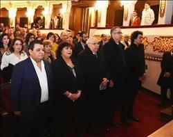 وزير الثقافة تشهد إعادة تشغيل المسرح القومي
