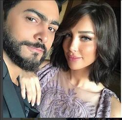 هجوم مغربي علي زوجة تامر حسني لهذا السبب.. !