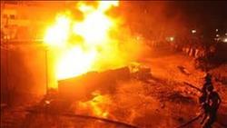 السيطرة على حريق مخبز وشقة سكنية بالمقطم
