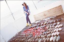 سمكة.. «بتعلم» البنات الصيد