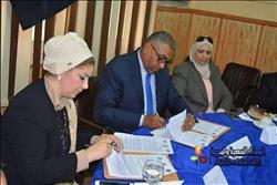 الأكاديمية العربية والجامعة العمالية يوقعان بروتوكول تعاون لتدريب الشباب