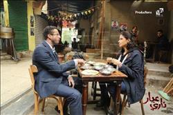 """شاهد أول صور لفيلم """"عيار ناري"""" تجمع بينروبي وأحمد الفيشاوي"""