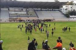 جماهير الترجي التونسي تقتحم ملعب تدريب الفريق.. «صور»