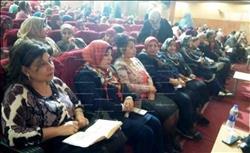 """""""القومى للمرأة"""" بسوهاج ينظم مؤتمراً شعبياً لحملة «صوتك لمصر بكره»"""