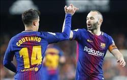 بالفيديو| برشلونة يفوز بثنائية على فالنسيا ويتأهل لنهائيكأس إسبانيا