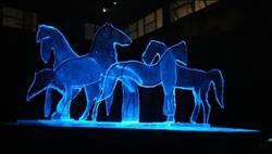 «الوحوش الزجاجية» على مسرح مركز شباب فرشوط 12 فبراير