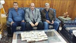 جمارك نويبع تحبط محاولة تهريب كمية من النقد المصري