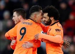 فيديو  محمد صلاح «أفضل لاعب» في مباراة ساوثهامبتون