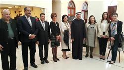 صور| السفير المصري يفتتح معرض التضامن للحرف اليدوية في الكويت