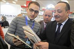 وزير الثقافة المغربي يزور جناح «حكماء المسلمين» بمعرض الدار البيضاء للكتاب