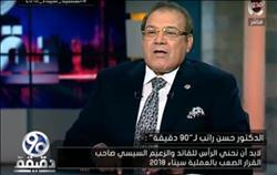 حسن راتب: اناشد الرئيس تفعيل صلاحيات المجلس الأعلى للاستثمار