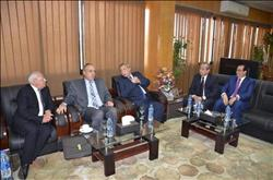 محافظ دمياط يشارك في الجلسة الأولى لمجلس المحافظين الإقليمي