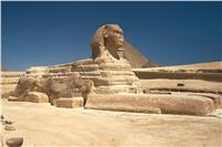 الآثار: بدء نقل وترميم تمثالين على هيئة أبو الهول