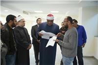 وكيل الأزهر يتابع التجديدات الخاصة بمبنى مجمع البحوث الإسلامية