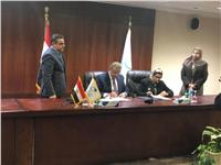 «البنك الأهلي المتحد مصر» يوقع مذكرة تفاهم مع «البريد»