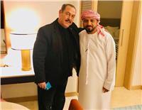 وصول لطفي بوشناق إلى الإمارات للمشاركة في مهرجان الفجيرة