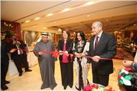 صور| انطلاق السوق الخيري لسفارة الكويت بالقاهرة بحضور والي ومصيلحي
