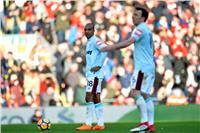 «أنطونيو» يحرز الهدف الأول لوست هام في ليفربول